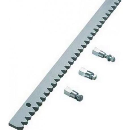Зубчатая металлическая рейка для откатных ворот